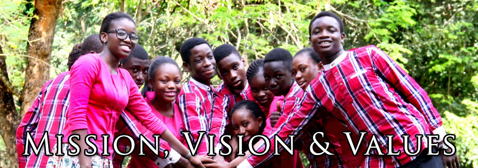 Vision Mission & Values
